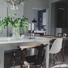 Dining Beautiful Homes, Dining Table, Interior, Furniture, Home Decor, Style, House Of Beauty, Interieur, Dining Room Table
