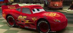 Lightning McQueen with Updated 'Cars 3' Design on Display at the 2017 Detroit Auto Show | Pixar Post