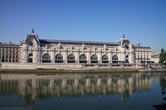 The Orsay Museum is housed in a grand railway station built in 1900 along the Seine River. Home to many sculptures and impressionist paintings it has become one of Paris's most popular museums.