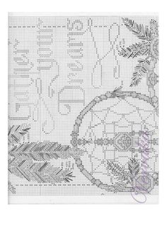 JE.043_Gather your Dreams_3/5 Cross Stitch Books, Cross Stitch Needles, Cross Stitch Charts, Cross Stitch Designs, Cross Stitch Patterns, Hardanger Embroidery, Cross Stitch Embroidery, Dream Catcher Patterns, Cross Stitch Collection