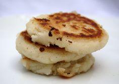 Asopaipas. Recetas de Cocina Casera.: Arepas con Queso