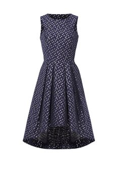 Rent Metallic Dot Jacquard Dress by Shoshanna for $50 - $70 only at Rent the Runway.