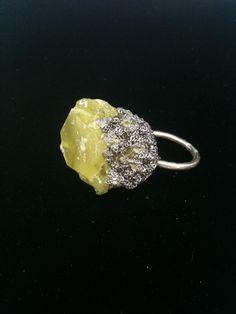Arielle de Pinto: Boule Ring - Ash + Citron