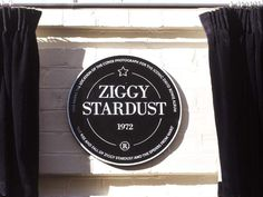Bowie plaque unveiled