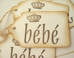 french baby shower gift and ideas - Google Search