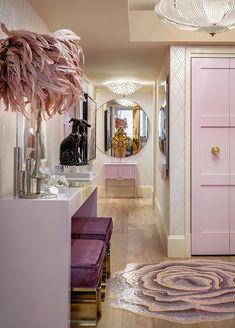 Top Interior Designers - Lori Morris & House of LDM Modern Bathroom Design, Bathroom Interior Design, Decor Interior Design, Interior Decorating, Home Design, Top Interior Designers, Interior Inspiration, Design Inspiration, Bedroom Decor