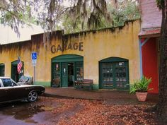 Visiting the tiny town of Micanopy, FL - where Doc Hollywood was filmed.