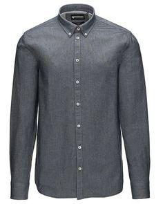 Super cool Minimum langærmet skjorte Minimum Skjorter til Herrer til hverdag og til fest