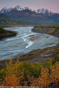 Matanuska River Valley, Alaska; photo by Ron Niebrugge