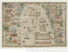[Atlas nautique du Monde, dit atlas Miller]. 2-5, [Atlas Miller : feuilles 2 à 5 ] - 1
