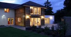 Two storey rear extension - YEME House Extension Plans, Cottage Extension, House Extension Design, Extension Designs, Glass Extension, Rear Extension, Extension Ideas, Extension Google, Conservatory Extension