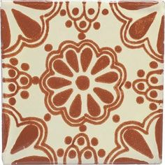 Mexican Talavera Ceramic Tile - 4x4 Terra Cotta Lace by Tierra y Fuego, http://www.amazon.com/dp/B002WJOPTE/ref=cm_sw_r_pi_dp_Dfeyrb19S0D2P
