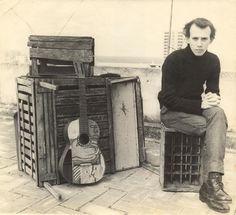 1968, con botas rusas