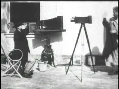 At the Photographer's (1900) - Alice Guy Blache | Slightly meta film as we have moving pictures of a man continually moving out of the way from being photographed.