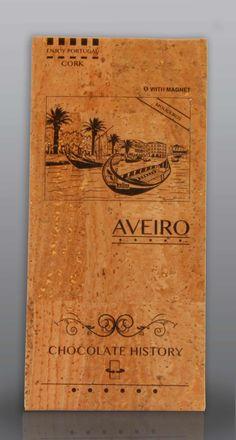 Aveiro | Moliceiros | Chocolate Negro 48% Cacau 125 g