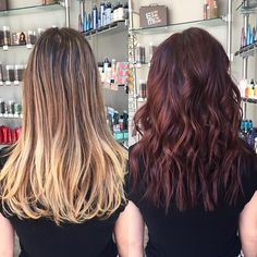 Before & after ✂️ #hair #haircut #hairking #hairlove #hairporn #hairpost #haircolor #hairstyle #hairtip #hairbydoug #hairbrained #hairstylist #balayage #balayagecolor #ombre #ombrehair #salon5150 #brea #trim #healthy #long #beautiful #modernsalon #btcpics #behindthechair #dougoconnell #angelofcolour #hairdressermagic #americansalon