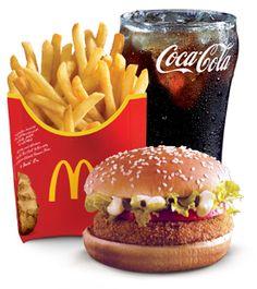 #McDonald's Arabia: Veggie Burger (80g) Meal #mcdonalds썬시티바카라 PINK14.COM 썬시티바카라 썬시티바카라썬시티바카라 썬시티바카라