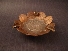 Mexican Coin Ashtray, Acapulco [Vintage] by MaGriffeBoutique on Etsy
