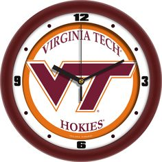 Demonstrate your team spirit in your home or office with your favorite college logo. Our 12 inch Traditional Wall Clocks feature a quartz accurate movement. Unlike plastic wall clocks you experience s