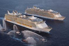 Oasis of the Sea : le plus gros paquebot du monde : Les plus grosses constructions humaines sur Terre - Linternaute.com Voyager