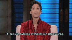 """""""[Faith] is going to help you in all aspects of life,"""" Prince once explained in an interview. """"Once you can clean out the cobwebs, so to speak, and then you're going to be able to see things more clearly. Prince Meme, Prince Gifs, Prince Images, George Lopez, Prince Purple Rain, Dearly Beloved, I Feel You, Roger Nelson, Prince Rogers Nelson"""