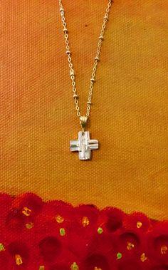 Simple and Unique silver Cross Necklace Trendy Jewelry, Crosses, Contemporary, Elegant, Simple, Unique, Silver, Classy, Fashion Jewelry