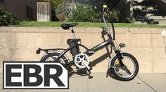 ElectroBike Alfa+ Video Review - Super Small Folding Ebike for $1k