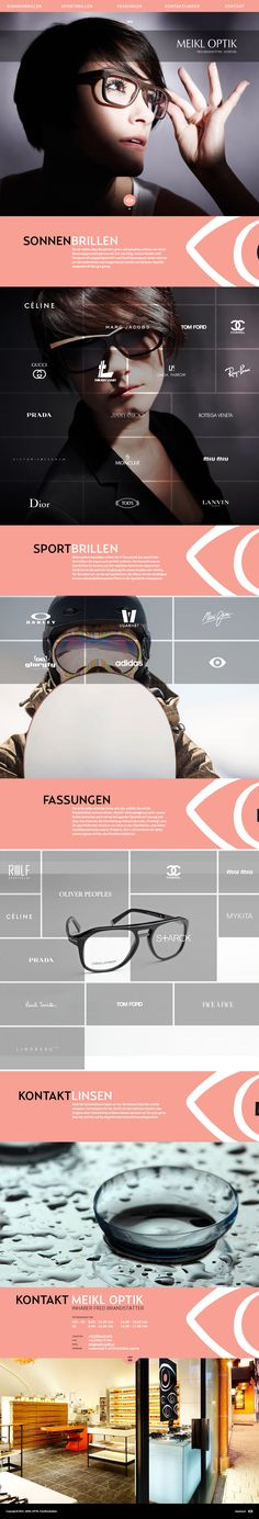 Paralax scrolling one pager to promote a sunglasses store in Kitzbühel, Austria. The site feels quite busy as you scroll down but I can appreciate what they are going for and those brand logos scale quite well down to mobile. I bet you could make this a theme and sell quite a few to sunglasses stores around the world.
