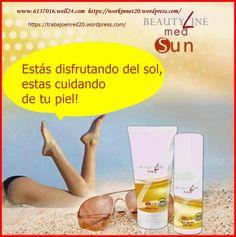 Pre Sun Beauty line la crema que te protege contra los rayos solares nocivos haciendo tu bronceado homogénea y luminosa!! bronceador todo natural y con una protección a prueba de quemaduras, para u…