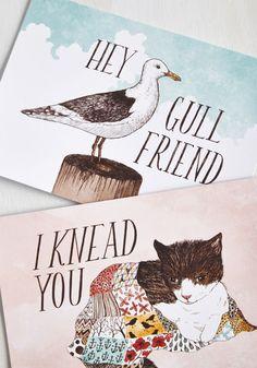 Have a Little Pun Notecard Set