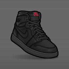 """SLOFAR on Instagram: """"Jordan 1 """"Triple Black"""" ⚫️🖤✊🏿. #sneakerart #sneakerposters #sneakervector #vector #vectorart #jordan1 #jordan1s #airjordan1 #airjordan1s…"""" Sneakers Wallpaper, Shoes Wallpaper, Jordan Logo Wallpaper, Sneaker Posters, Jordan Vi, Nike Shoes, Sneakers Nike, Dope Cartoons, Sneaker Art"""