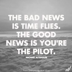 turn off the autopilot and take the reins