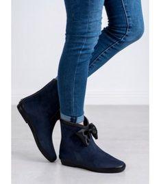 Semišové gumáky s mašľou Character Shoes, Dance Shoes, Booty, Ankle, Fashion, Dancing Shoes, Moda, Swag, Wall Plug