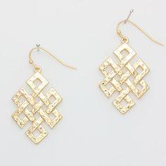 Latrice Earrings in Gold