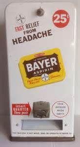 vintage medicine vending aspirin - Bing Images