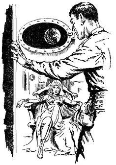 """In Erinnerung.......... Thora und Perry Rhodan  """"Unternehmen Stardust""""  von K.H. Scheer Seite 45"""