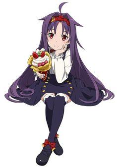 Anime Girl Cute, I Love Anime, Anime Art Girl, Online Anime, Online Art, Sword Art Online Yuuki, Demon Wolf, Anime Fairy, Asuna