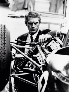 Steve McQueen - A man of style and a passion for cars