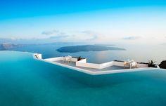 Top 10 Cliff-Edge Santorini Hotels Design Buffs will Love | Luxury Hotels TravelPlusStyle