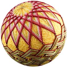 Temari, Japanese wrapped balls (for games)