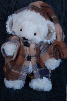 Купить мишка тедди Тёма - белый, мишка тедди, мишка ручной работы, мишка в подарок