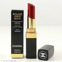 CHANEL Rouge Coco Shine, Téméraire, Nr. 112