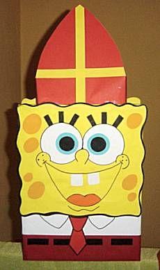 Meer foto's SpongeBob surprise van knutselidee.nl