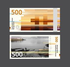 Norway's New Banknotes by Snøhetta & The Metric System   Inspiration Grid   Design Inspiration