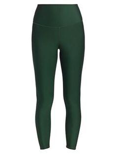 Alo Yoga High-waist Leggings In Forest Tree Trunks, Yoga Fashion, Yoga Leggings, World Of Fashion, Luxury Branding, High Waist, Model, Club, Clothes