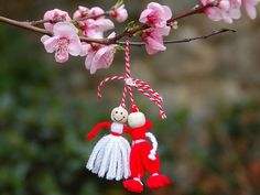 ''Martisor'' traditional Romanian Spring Coming Celebration, of March Baba Marta, Culture Art, First Day Of Spring, Decorative Objects, Red And White, Traditional, Beautiful, Christmas Ornaments, Wallpaper