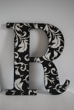 $12.00 Decorative wooden letters