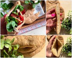 Szafi Free szénhidrátcsökkentett vegán pita (gluténmentes, tejmentes, tojásmentes, élesztőmentes, szójamentes) – Éhezésmentes karcsúság Szafival