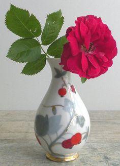 Elegant Rose Hip Vase