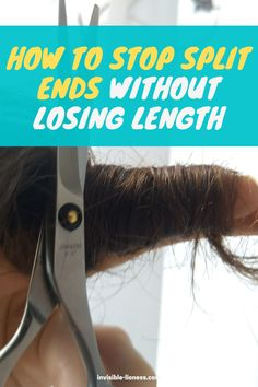 Did you think there's a miracle treatment to heal split ends overnight? Unfortunately, there isn't. But these tips will help you get rid of split ends anyway! Long Hair Tips, Grow Long Hair, Easy Hairstyles For Long Hair, Vitamins For Hair Growth, Hair Vitamins, Healthy Hair Tips, Healthy Hair Growth, Diy Hair Care, Hair Care Tips